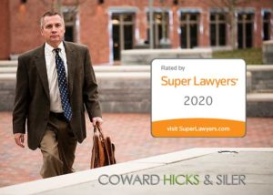 Monty Beck included in North Carolina Super Lawyer 2020